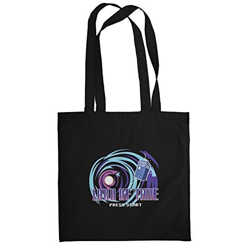 Texlab–Lord Of Time Video Game–sacchetto di stoffa Nero