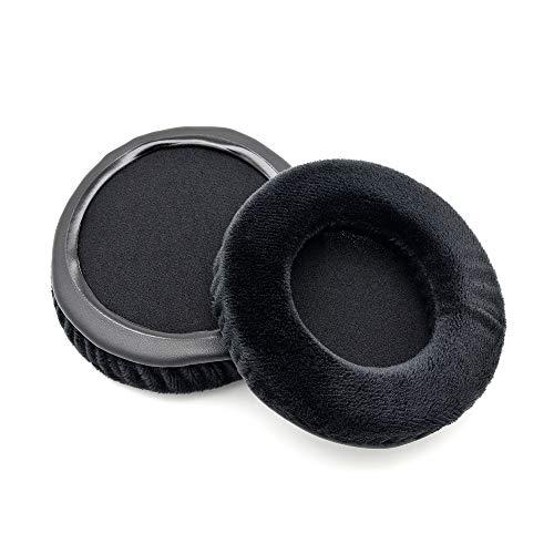 Coussinets de Rechange en Velours Noir pour Casque Audio Technica ATH-ADG1X ATH ADG1X