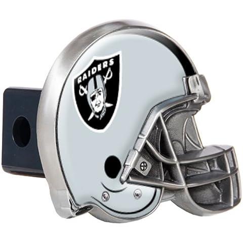 NFL Oakland Raiders Metal Helmet Trailer Hitch Cover