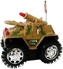Tinee Miniature model Military shade Tumbling Tanks Children's Toy Military Model