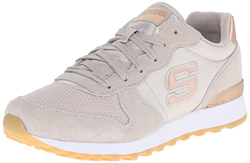 Skechers (SKEES) - Retros-Og 85-Goldn Gurl, Scarpa Tecnica da donna, beige (tpe), 38