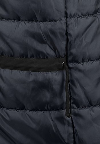 PRODUKT Platon Herren Parka lange Winterjacke mit Kapuze samt Fellkragen und Holz-Knopfleiste aus hochwertigem Material Black