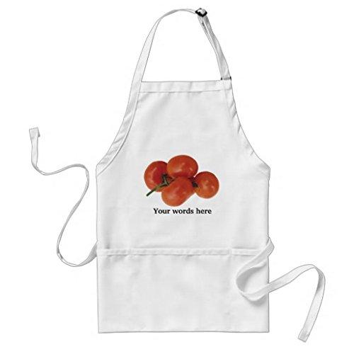Tablier de cuisine pour femme – Tomate fraîche Festival foire des tabliers de Motif pour filles cou réglable Attaches de tour de taille Tablier de cuisine pour homme