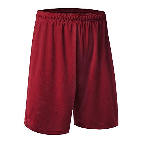 Brightup Männer Fitness Basketball Shorts Laufen Gym Sport Lässige kurze Hosen (Baseball-hose Kurze)