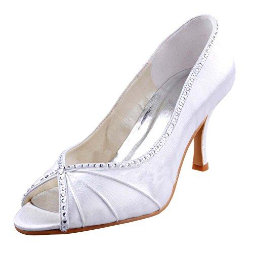 Casamento Sapatos Moda Moda Mulheres Marfim Kevin Das wqEOgn