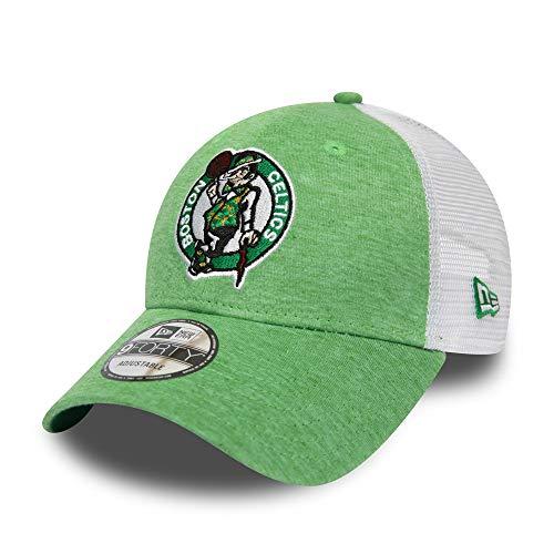 New Era Adjustable Trucker Cap - Summer Boston Celtics Boston Trucker Hut