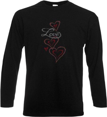 Herren - Langarm T-Shirt Motiv: highest quality Größen: S, M, L, XL, XXL Farbe: schwarz Schwarz