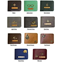 I Love Fashion Leather Personalised Men's Wallet