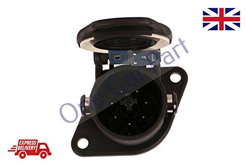 Truck Trailer ABS Plug N Typ 7Pin Schwarz Hohe Qualität
