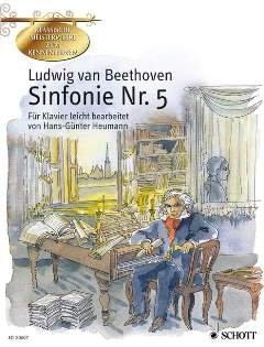 SINFONIE 5 - arrangiert für Klavier [Noten / Sheetmusic] Komponist: BEETHOVEN LUDWIG VAN aus der Reihe: KLASSISCHE MEISTERWERKE ZUM KENNENLERNEN