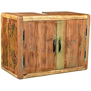woodkings bad waschbeckenunterschrank kalkutta recyceltes. Black Bedroom Furniture Sets. Home Design Ideas
