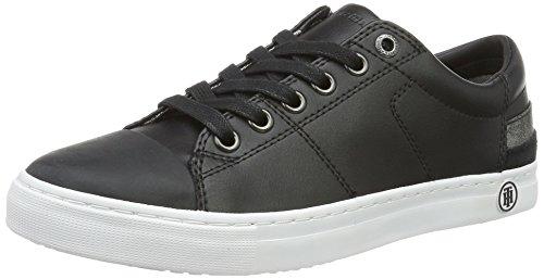 Tommy Hilfiger Damen J1285eanne 1a Sneakers Schwarz (BLACK 990)