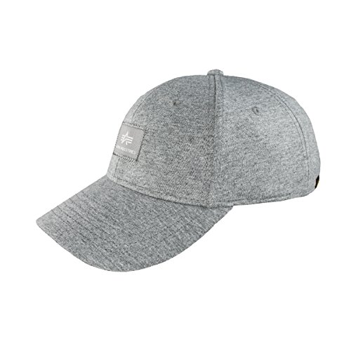 Alpha Industries Herren Caps / Snapback Cap X-Fit II grau Verstellbar