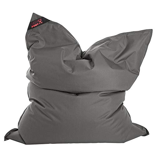 SITTING POINT only by MAGMA Sitzsack Scuba Big Foot 130x170cm anthrazit (Outdoor)