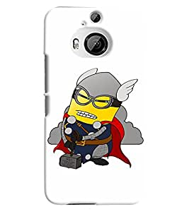 TOUCHNER (TN) Minion Fighter Back Case Cover for HTC One M9+::HTC One M9 Plus