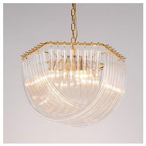 Focos de techo Iluminación colgante Lámparas de ar Araña de Cristal Postmoderno...