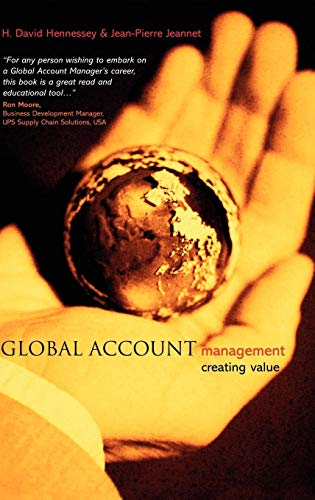 Global Account Management: Creating Value