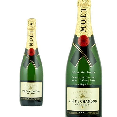 Personalised Moet & Chandon Brut Premier 75cl