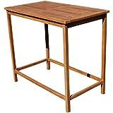 ASS Teak Bartisch Bistrotisch Stehtisch 120x70cm Holztisch Gartentisch Garten Tisch Holz Modell: JAV-BIMA-120x70 von