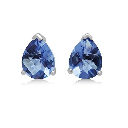 Cortina Jewelry  -  Sterling-Silber 925  Sterling-Silber Tropfenschliff      - Teardrop Amethyst Ringe
