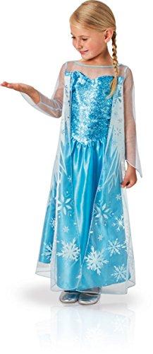 faschingskostuem eiskoenigin elsa Rubie's 3620975 - Elsa Frozen Classic, Action Dress Ups und Zubehör, M (5-6Y)