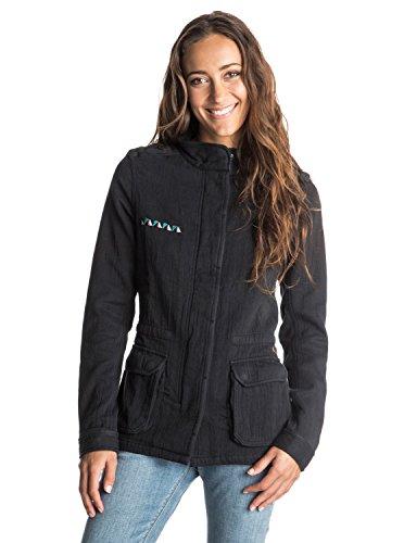 Cappotto delle donne Roxy nel cappotto del vento, antracite, m, ERJJK03097-KVJ0