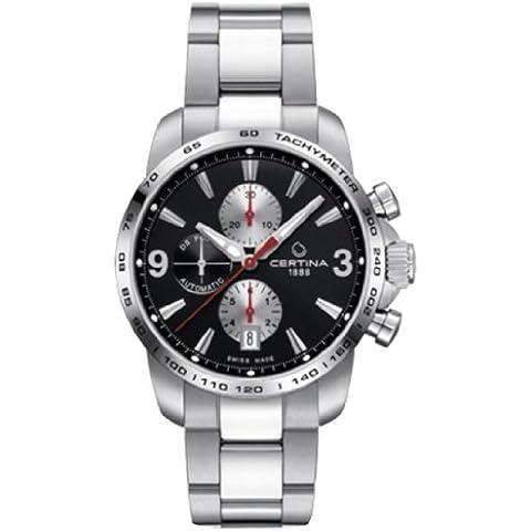 Certina  - Reloj  de Automático para Hombre, correa de Acero inoxidable color Plateado