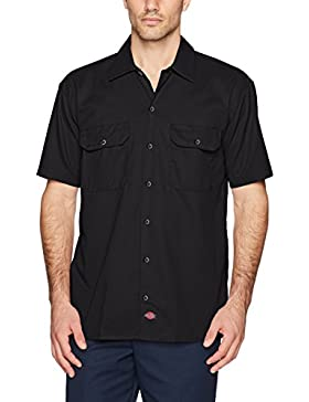 Dickies Shrt/s Work Shirt, Maglia a Maniche Lunghe Uomo