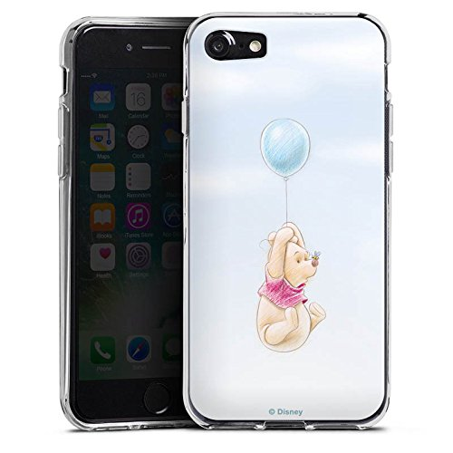 Apple iPhone 7 Plus Hülle Case Handyhülle Disney Winnie Puuh Fanartikel Merchandise Silikon Case transparent