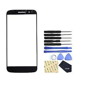 VEKIR Glasreparatur Bildschirm für Motorola Moto M XT1662(BLACK)