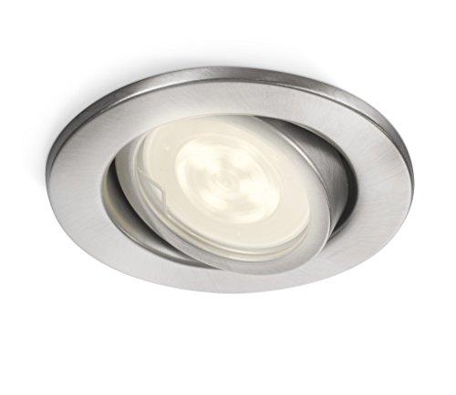 Philips luminaire extérieur LED spot encastrable Fresco inox