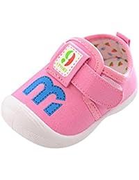 BYSTE Scarpe per Bimbo Bambino Pantofole Inverno Bambina Scarpe Carina Orecchie di Coniglio Scarpe Prima Infanzia Scarpe Singole Scarpe Sportive (24 Mesi, Rosa)