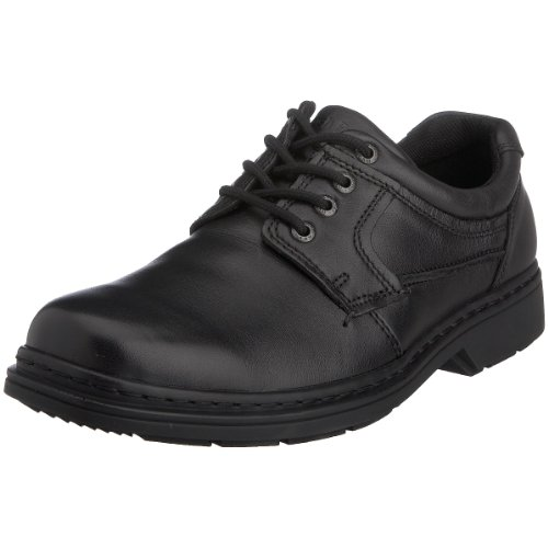 Hush Puppies - Outlaw, Oxford da Uomo Nero (nero)
