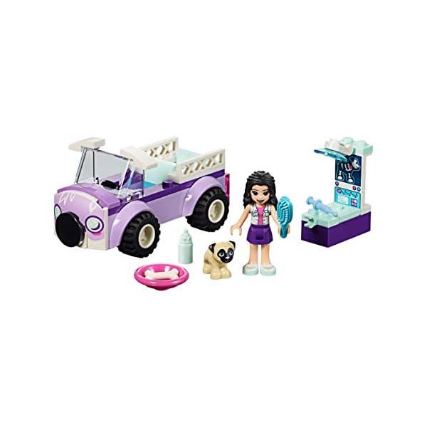 LEGO - Friends La clinica veterinaria mobile di Emma, con Mini-doll e Cane Inclusi, Kit Giocattolo per Bambini, Idea… 4 spesavip