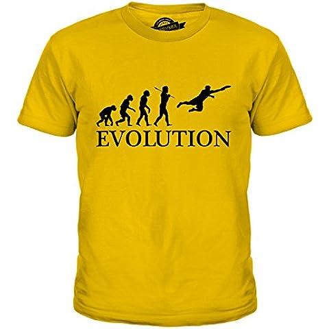 CandyMix Ultimate Frisbee Evoluzione Umana Unisex Bambino