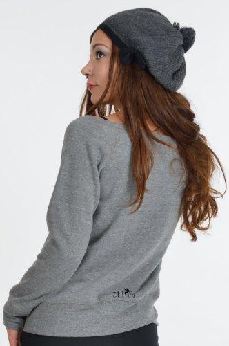 3 Elfen - sweat-shirt Pull sans bretelles - Cosma Lyric - Femme Gris