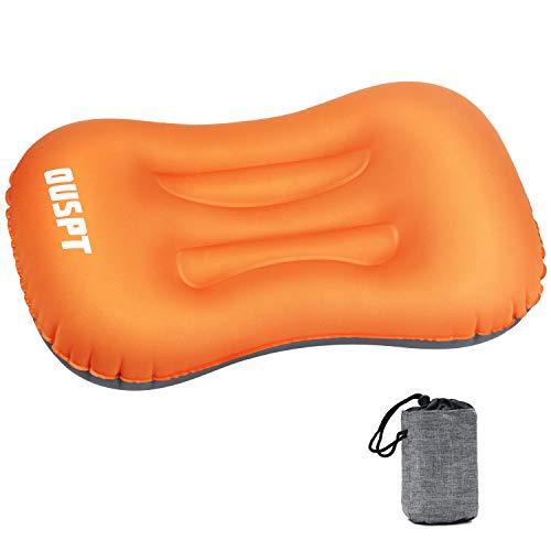 Aufblasbares Kissen,Ultralight Camping Kopfkissen Komfortables Ergonomisches Kissen für Camping, Strand, Urlaubsreise, Reisen, Outdoor oder Garten
