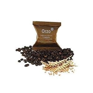 ODC Capsule compatibili con macchina da caffè sistema Lavazza Espresso Point kit formato da 50 cialde solubile al Orzo…