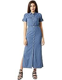 69c3a8c9743 Denim Women s Dresses  Buy Denim Women s Dresses online at best ...