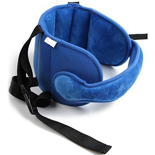 ABBQT Baby Kopfgurte Kindersitz Kopfstütze Kopfstütze Kopfschutz Schlafhilfe Gürtel - Pink