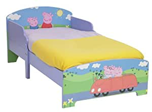 Peppa Pig Toddler Bed by HelloHome: Amazon.co.uk: Kitchen ...