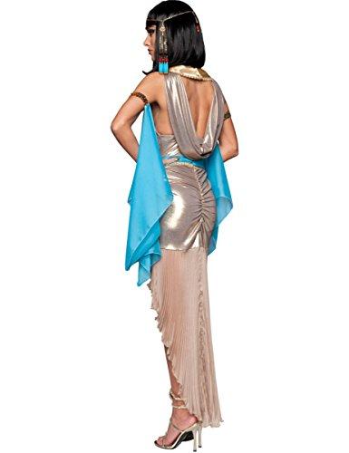 Disfraz Reina de Egipto mujer Premium 4