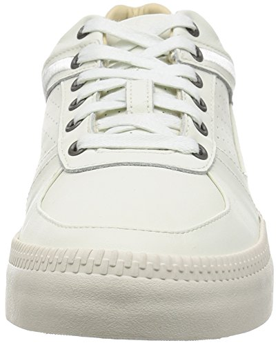 DIESEL Y01367 P1193 S-SPAARL LOW WHITE SNEAKERS Homme white