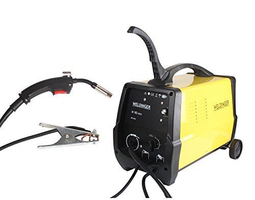 WELDINGER MIG/MAG-Schutzgasschweißgerät M 182 eco 180 A Leistung (Schweißgerät Transformator Schweißtrafo)