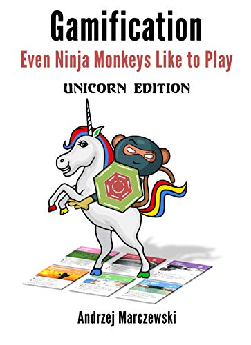 Even Ninja Monkeys Like to Play: Unicorn Edition (English Edition) de [Marczewski, Andrzej]