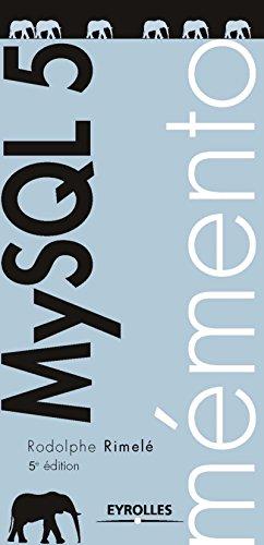 Mémento MySQL 5, 5e édition