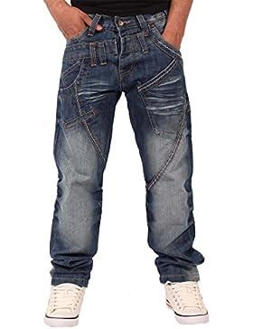 Peviani Hombre Niño True Harpenden Denim Estrellas Encajar Jeans Rectos G Bar Religion