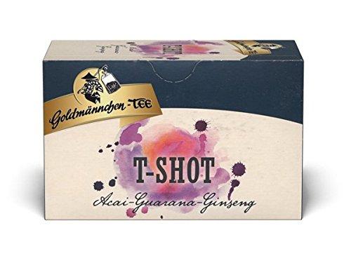 Goldmännchen-TEE T-Shot 6er Pack