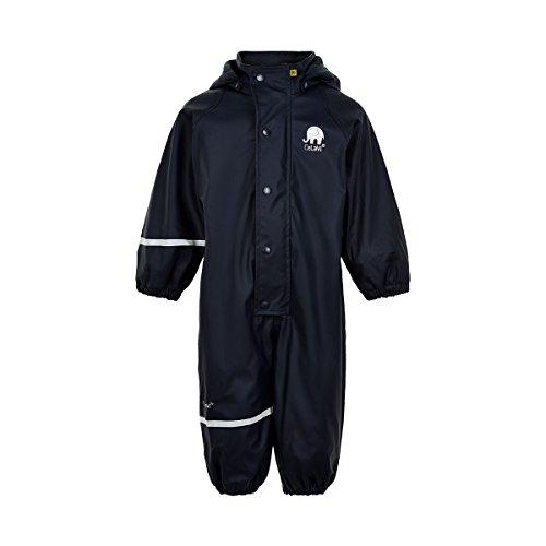 CeLaVi Kinder Jungen Regenanzug , Gefüttert, Alter: ab 3 Jahren, Größe: 100, Farbe: Dunkelblau, 310122