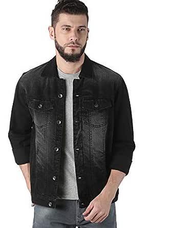 Nilesh Men's Coats Jackets,Winter Casual Fashion Pure Color Patchwork Jacket Zipper Outwear Coat (Nilesh JK87 XXL)